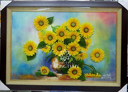 Tranh hoa Hướng dương (tĩnh vật)