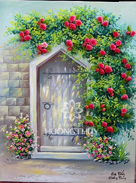 Cổng hoa hạnh phúc