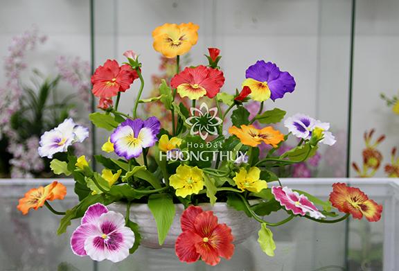 Đĩa hoa Păng-xê