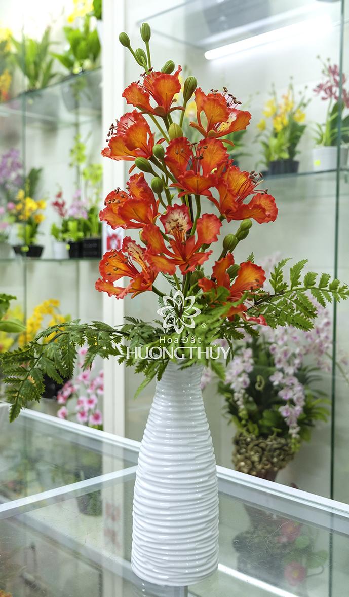 Cành hoa phượng 9 bông